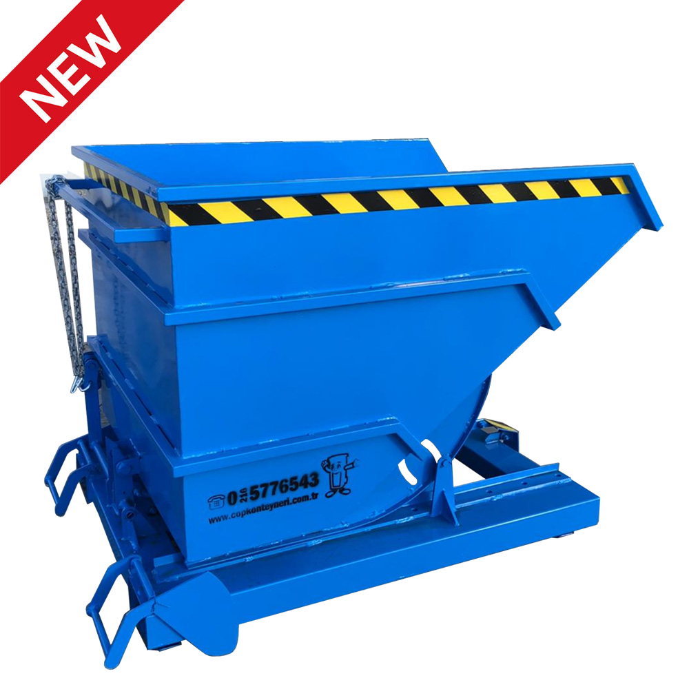 Automatic Tilting Container