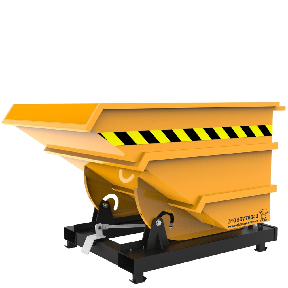 Self Dumping Hoppers tilting container