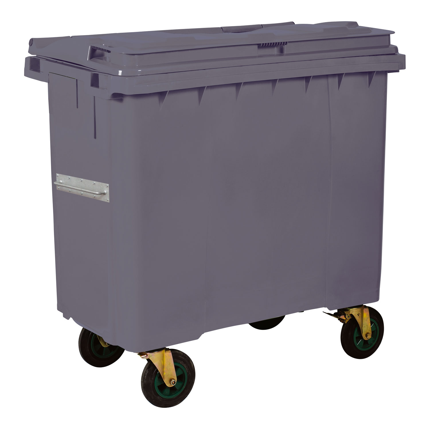 Plastic Waste Container 770 l Gray